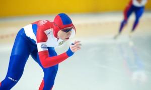 Проба с бегом на коньках для конькобежцев