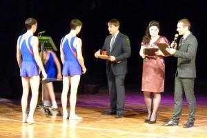 В Благовещенске наградили лучших спортивных врачей и спортсменов за 2012 год